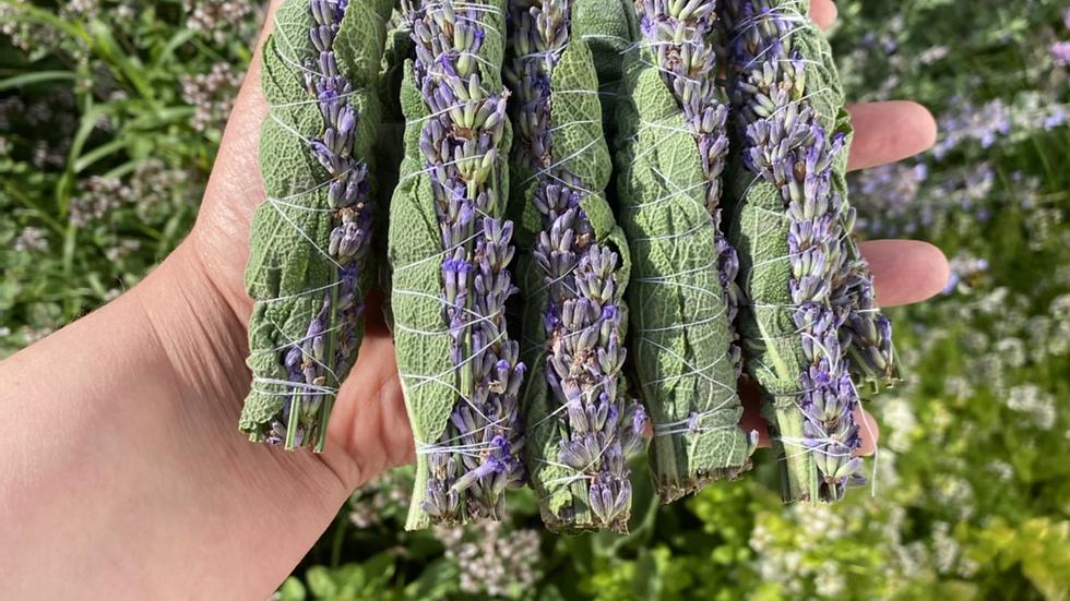 Sage and Lavender Smudge Sticks