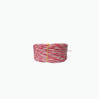 Cable Cruzado para Armarios JWT JUMPER 2X24 Estañado Rojo - Blanco