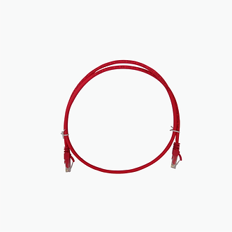 Patch Cord C5E RD 1M Rojo