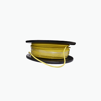 Cable Coaxial MIN RG59 HD 95% Amarillo