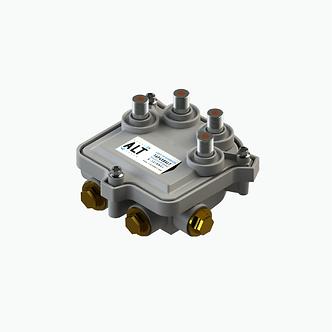 Tap troncal 4 vías 1 .2 GHz