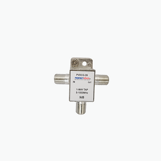 Tap de Interior 5-1000 MHz, una Via 9 DB PV