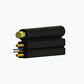 Cable drop plano fig. 8 KFRP mensajero de aramida