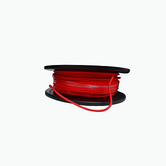Cable Coaxial MIN RG59 HD 95% Rojo