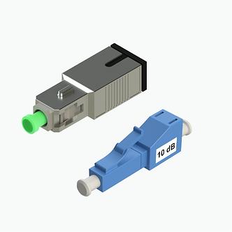 Atenuadores de fibra de fibra óptica