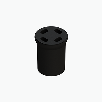 Acoplador para cable de fibra óptica drop