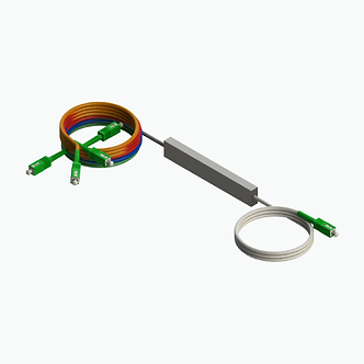 Splitter óptico conectorizado