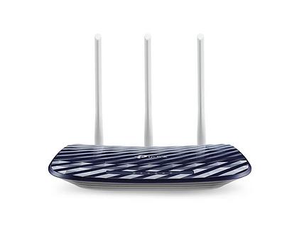 Router Inalámbrico Banda Dual AC750 3 Antenas