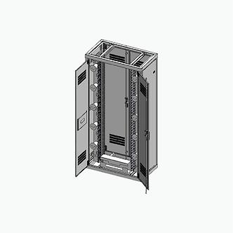 Rack cerrado alta densidad