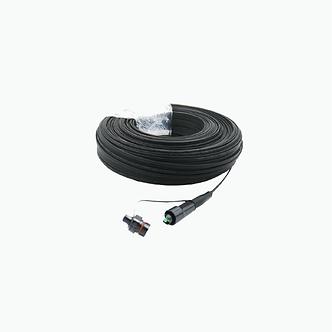 Cable drop preconectorizado