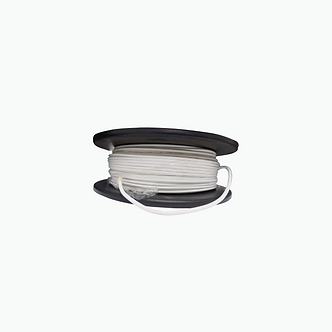 Cable Coaxial MIN RG59 HD 95% Blanco