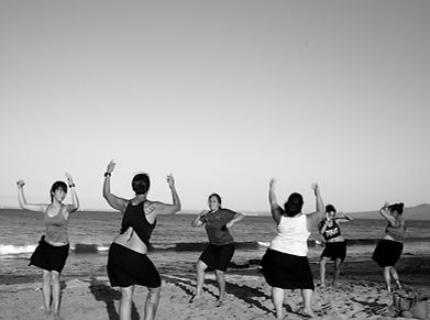 Dancing at Campbells Bay