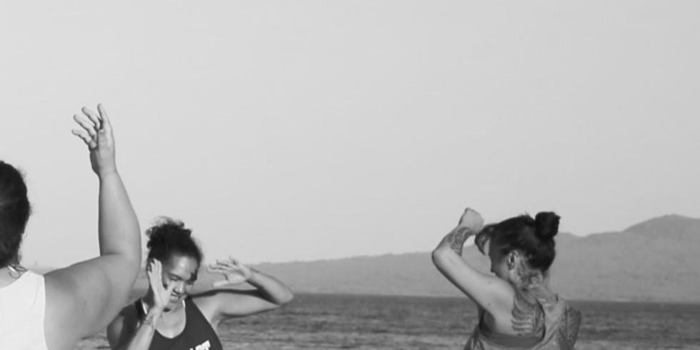 Nesian Dance Class   Campbells Bay Beach   June 13
