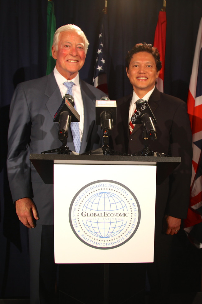 Danny Nguyen, CCIM and Brian Tracy Address the United Nations
