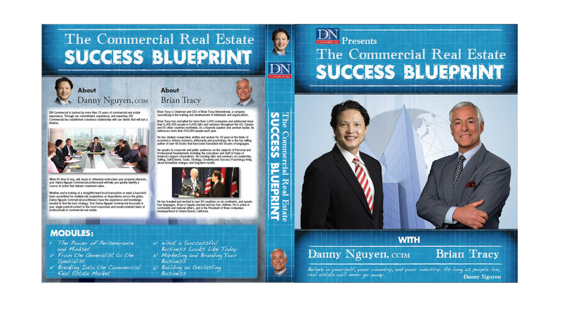 Brian Tracy, Danny Nguyen, CCIM Record Commercial Real Estate CD to Help Others Succeed (Audio Inclu