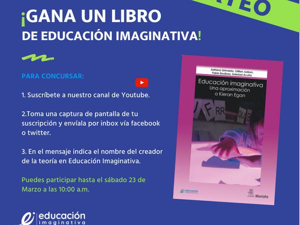 SORTEO: Gana un libro de Educación Imaginativa