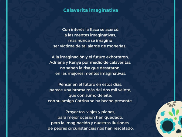 Calaveritas imaginativas