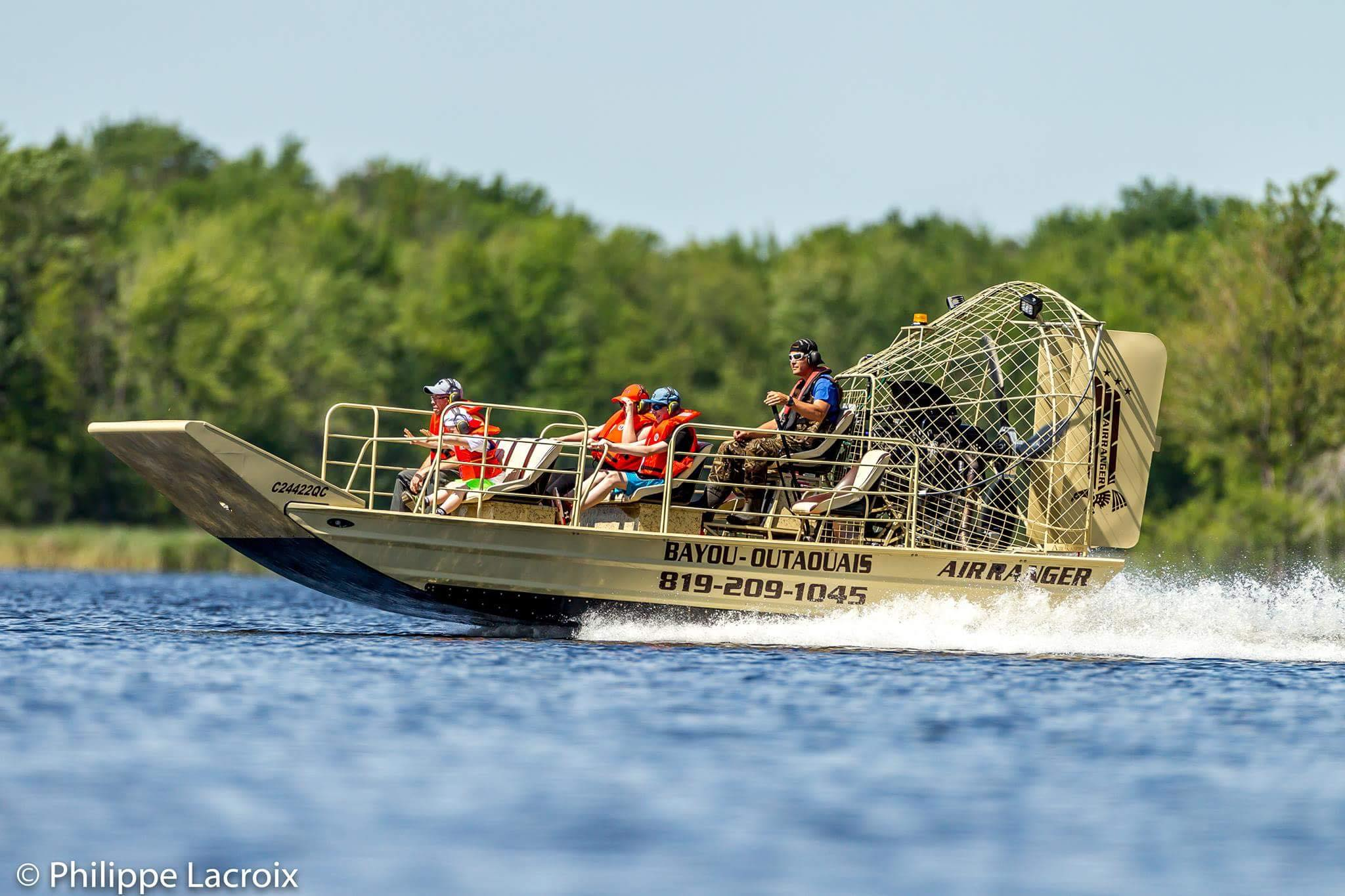 Bayou outaouais ottawa gatineau boat tours québec