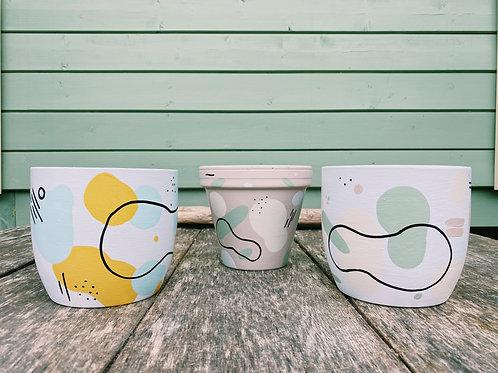 Customised Cylinder Pot