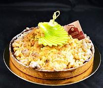 Patisserie, le Fournil de la Grange, la tarte crumble pommes