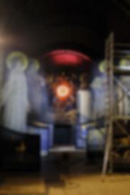 Montage, arche, Sacré-Coeur, Paris, hos