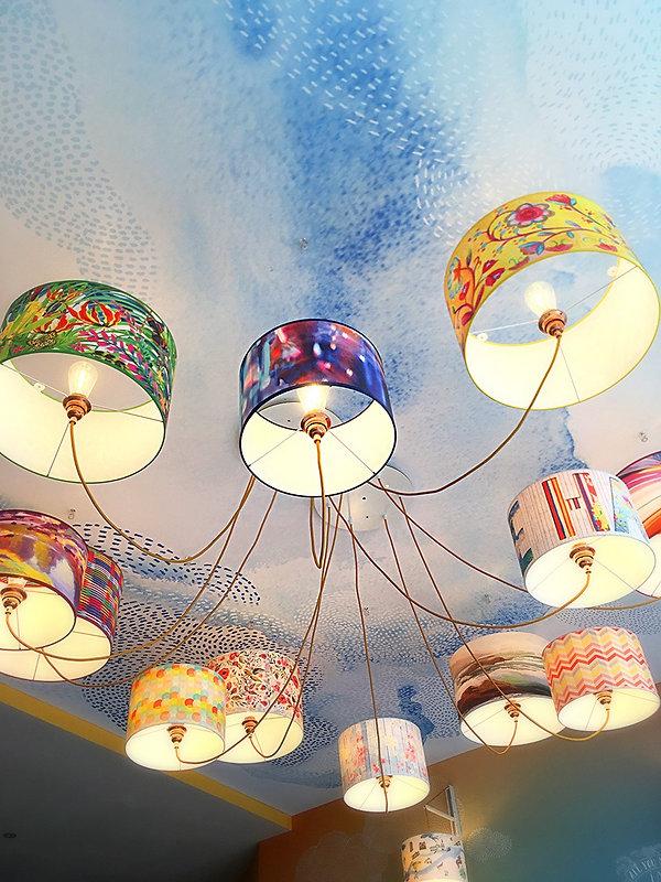 Abat-jour, luminaire, suspension, design