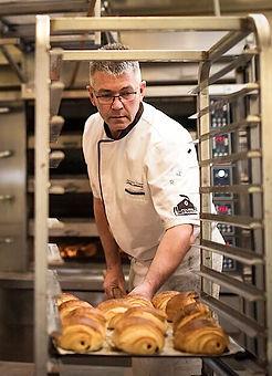 Jean-Maurice Monnier notre chef boulanger au Fournil de la Grange