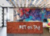 Tandm Design, agence de design spécialisée dans la décoration murale pour un accueil