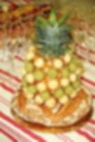 Traiteur au Fournil de la Grange, pain surprise ananas