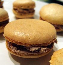 Traiteur au Fournil de la Grange, macarons foie gras