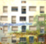 tandm design, agence de design spécialisée dans la décoration murale, ici sur une façade d'immeuble