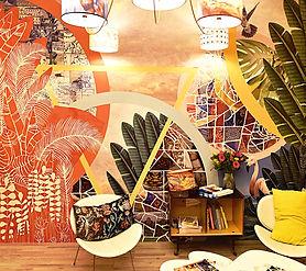 Tandm Design, agence de design spécialisée dans la décoration murale, le show-room
