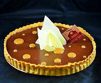 Patisserie, le Fournil de la Grange, la tarte chocolat caramel