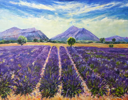 Provence 70x90 cm. Pris 7.500 kr.