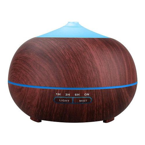 Tenswall Dark Wood Grain Essential Oil Humidifier 400ml