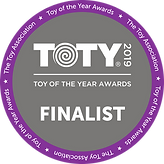 Toy of the Year Finalist Sticker clear.p
