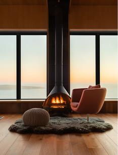 Vintage-Style Fireplace