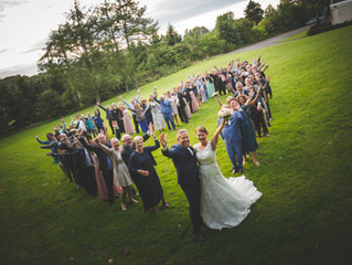 Sådan får I de bedste, og mest effektive, bryllupsbilleder med familien