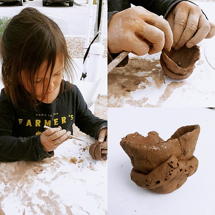 Ceramic Parent and Child Project Ages (3-6yrs)