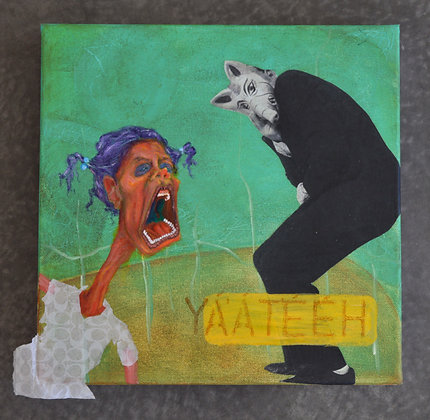 CoLAB1 Artists: Marina Eskeets & Brandee Caoba
