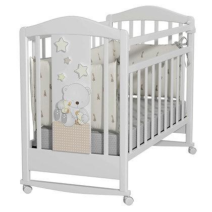 Кровать детская Альма Няня Amici Prima (колесо-качалка)