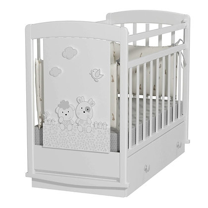 Кровать детская Альма-Няня Fattoria Prima (маятник с ящиком)