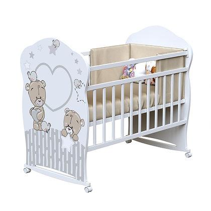 Кровать детская ВДК FOREVER FRIENDS (колесо-качалка)