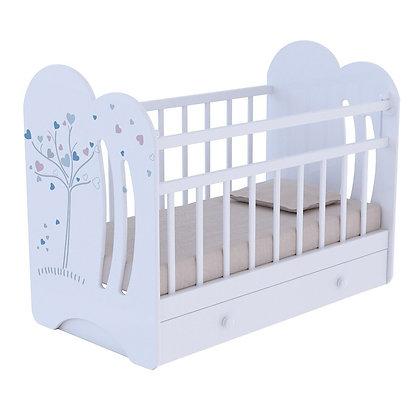 Кровать детская ВДК WIND TREE c маятником и ящиком