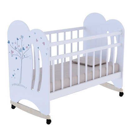 Кровать детская ВДК WIND TREE, колесо-качалка