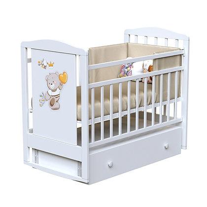 Кровать детская ВДК LUCAS (маятник-ящик)