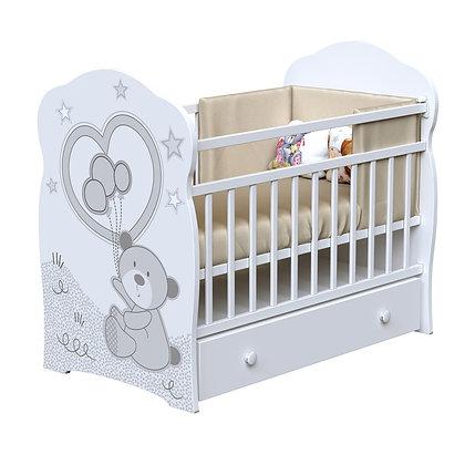 Кровать детская ВДК TOBY (маятник-ящик)