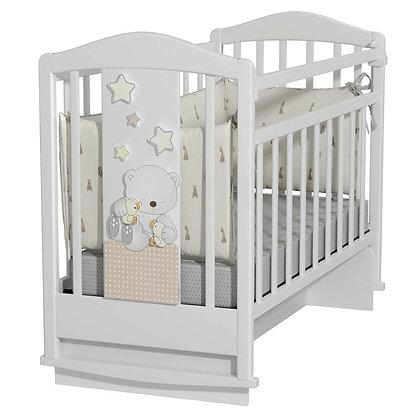 Кровать детская Amici Prima (колесо-качалка с маятником)