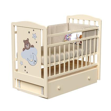 Кровать детская ВДК BIRBA (маятник-ящик)