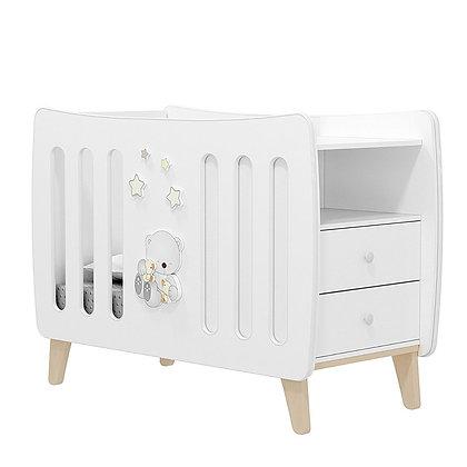 Кровать детская Альма Няня AMICI CARO (с выдвигающимся комодом)